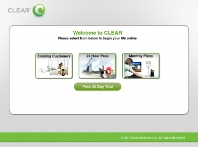 Clear WiMAX 30days Free