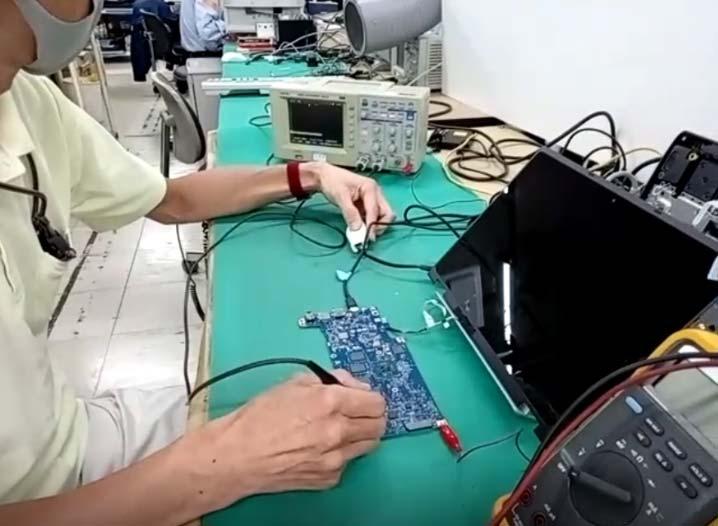 NEC マザーボード修理